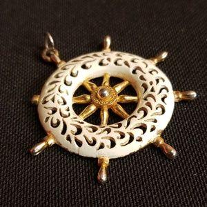 Large sailor pendant